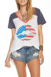 Chaser American Kiss Tee - Product Mini Image