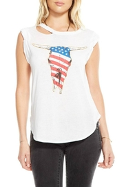 Chaser American Skull Graphic Tank - Product Mini Image