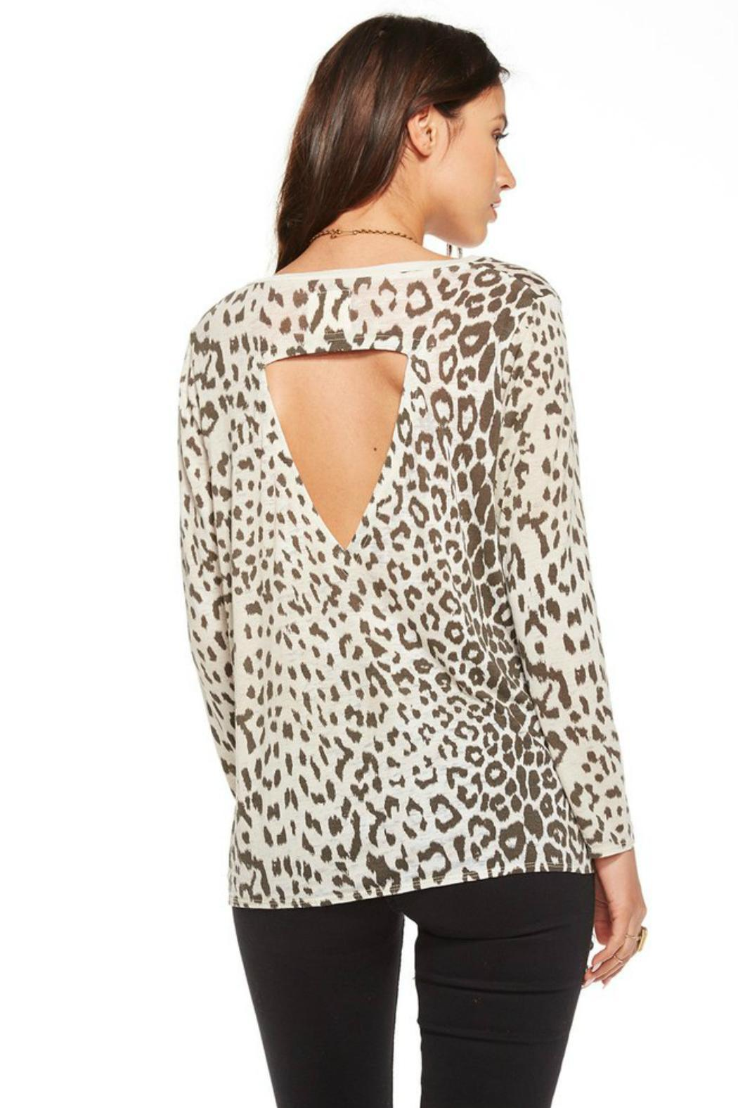 Chaser Animal Print Top - Front Full Image