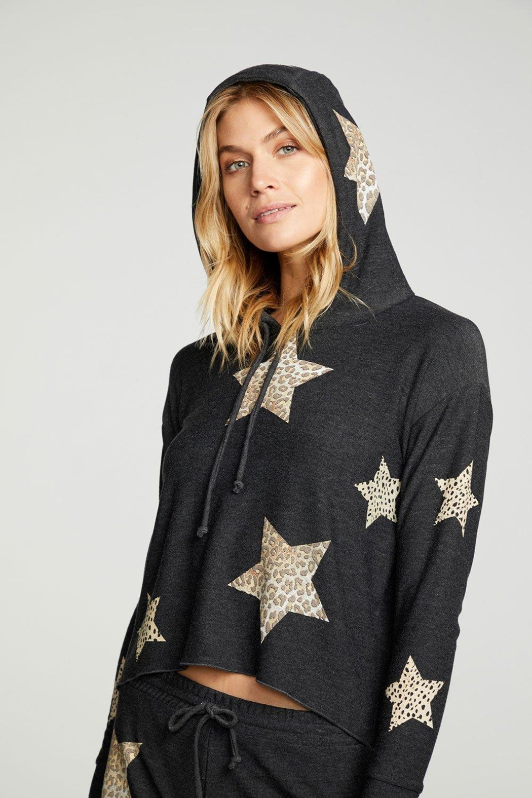 Chaser Animal Star Hoodie - Side Cropped Image