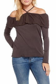 Chaser Baby Rib Cold-Shoulder - Product Mini Image