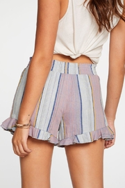 Chaser Beachy Linen Shorts - Front full body