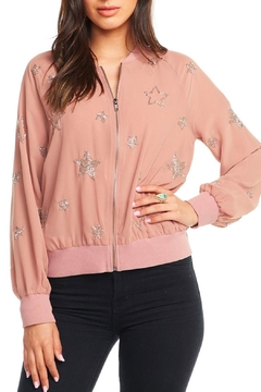 Shoptiques Product: Beaded Star Bomber