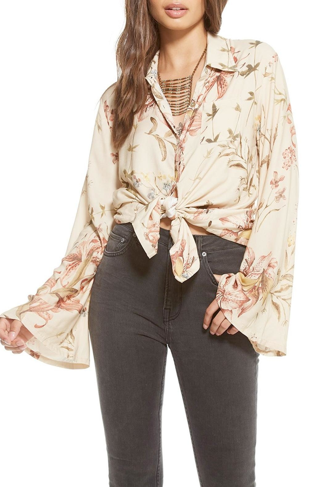 Chaser Bell Sleeve Blouse - Main Image