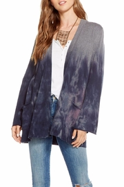 Chaser Bell-Sleeve Open Cardigan - Front cropped