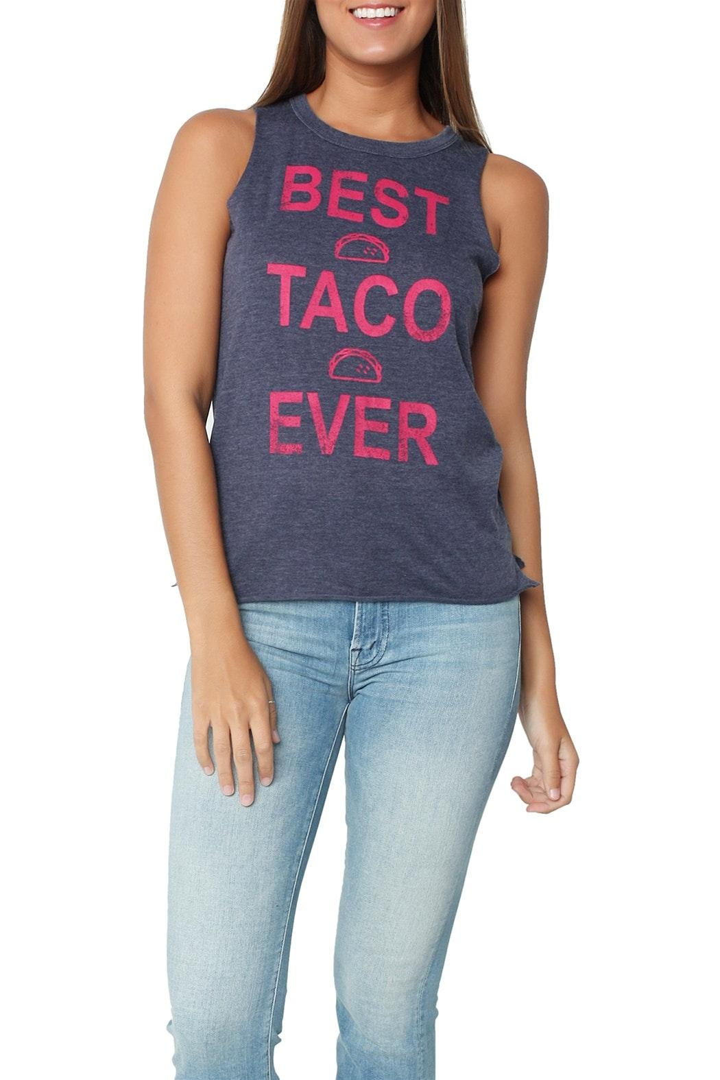 Chaser Best Taco Ever Tank - Main Image
