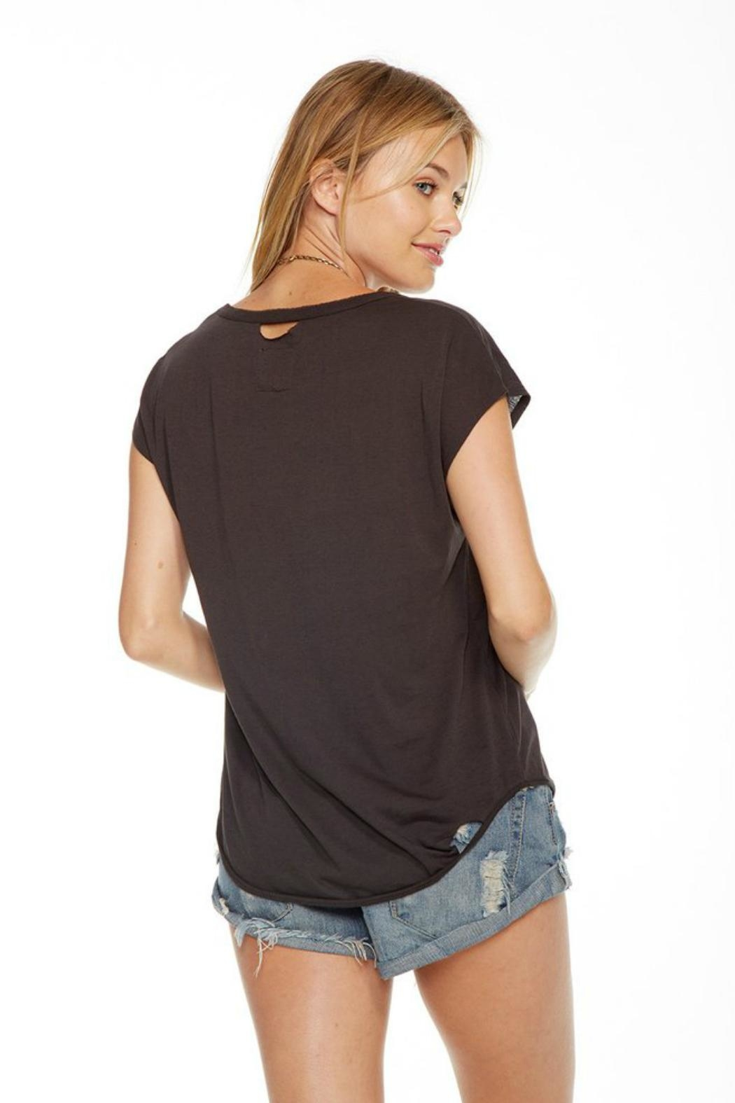 Chaser Black Tee - Front Full Image
