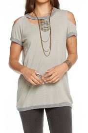 Chaser Blocked Jersey Tee - Front cropped