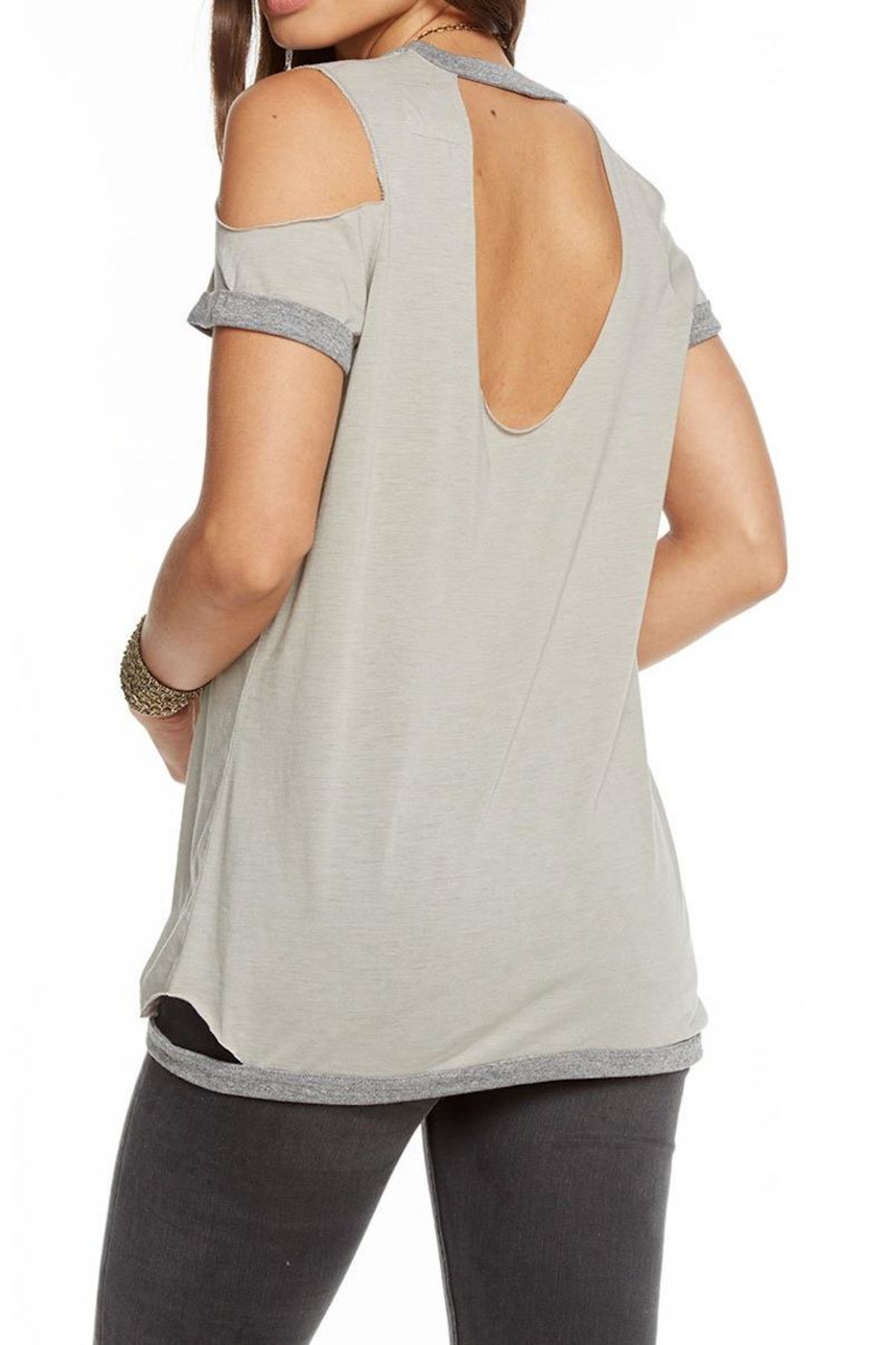 Chaser Blocked Jersey Tee - Front Full Image