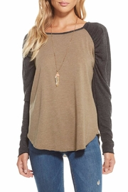 Chaser Blocked Shirred Raglan - Product Mini Image
