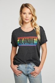 Chaser Blondie Rainbow Tee - Front cropped