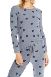 Chaser Blue Hearts Pullover - Product Mini Image