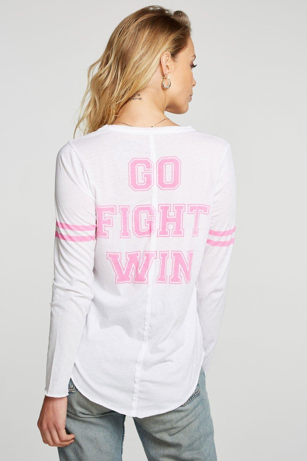Chaser Breast-Cancer Awareness Tee - Side Cropped Image