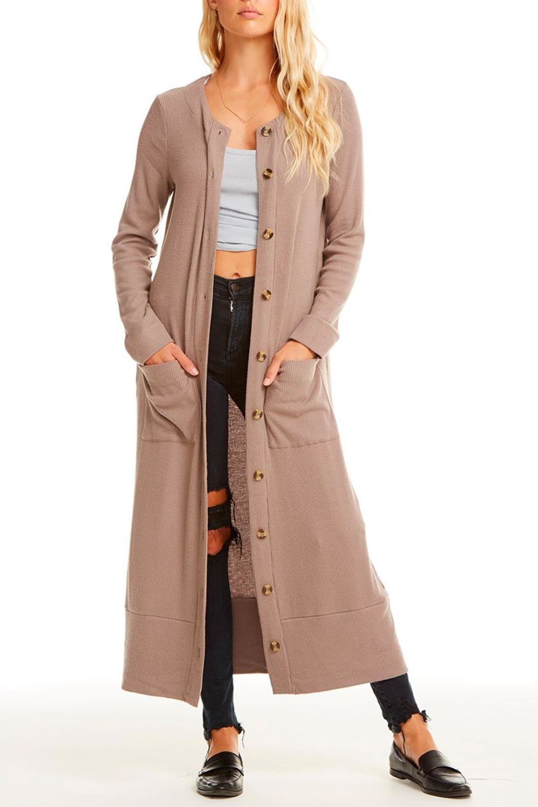 Chaser Button Down Duster - Main Image