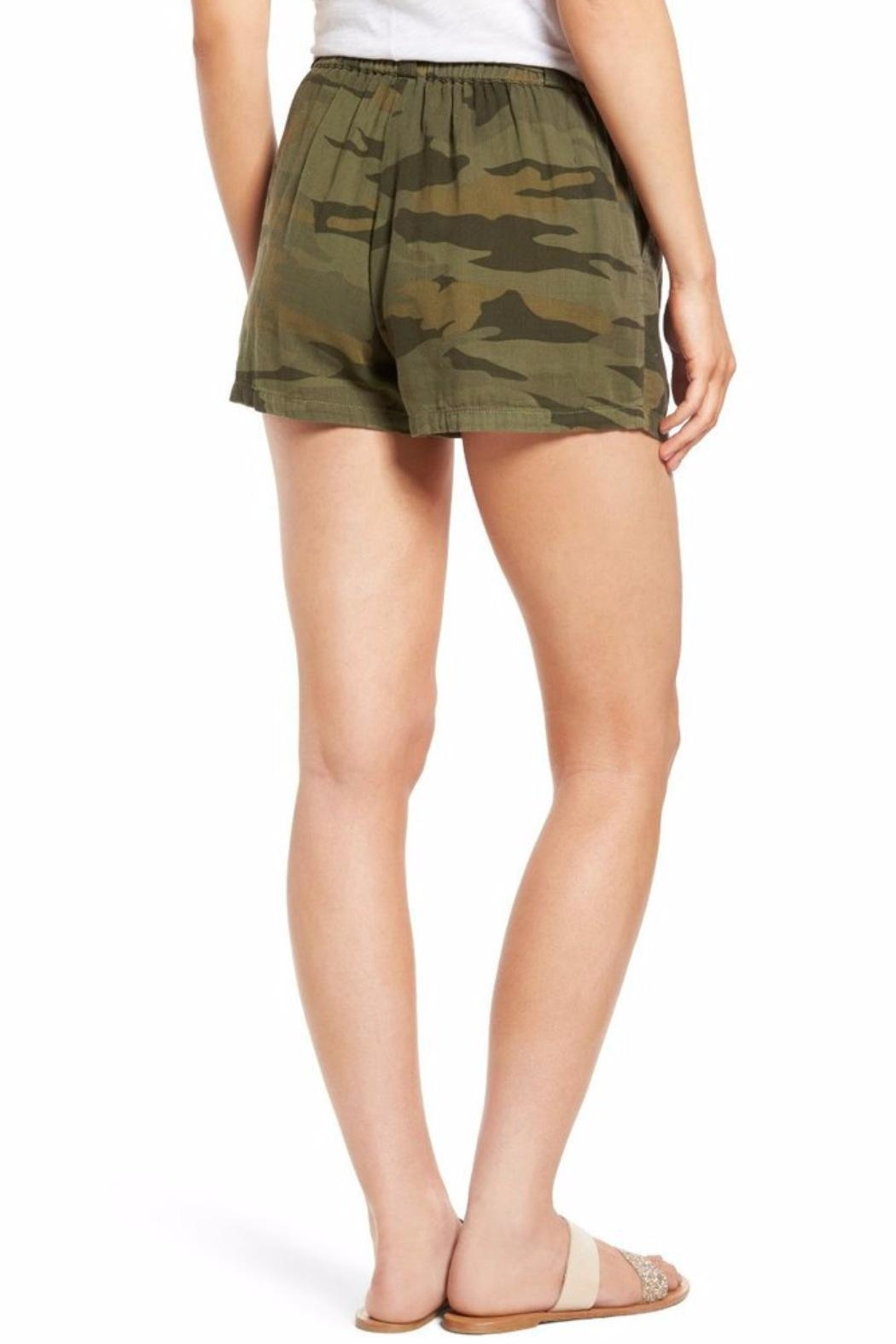 Chaser Camo Drawstring Short - Front Full Image