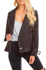 Chaser Canvas Short Trench - Front cropped