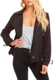 Chaser Canvas Short Trench - Front full body