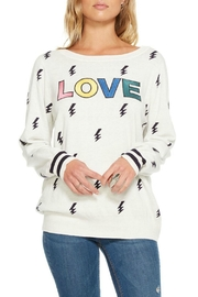 Chaser Cashmere Blend Sweatshirt - Product Mini Image