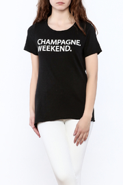 Chaser Champagne Weekend Tee - Product Mini Image