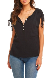 Chaser Cinched Shoulder Henley - Product Mini Image