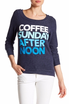 Shoptiques Product: Coffee Sunday Afternoon Top