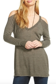 Chaser Cold Shoulder Raglan Top - Product Mini Image
