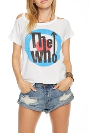 Chaser Cold Shoulder Tee - Product Mini Image