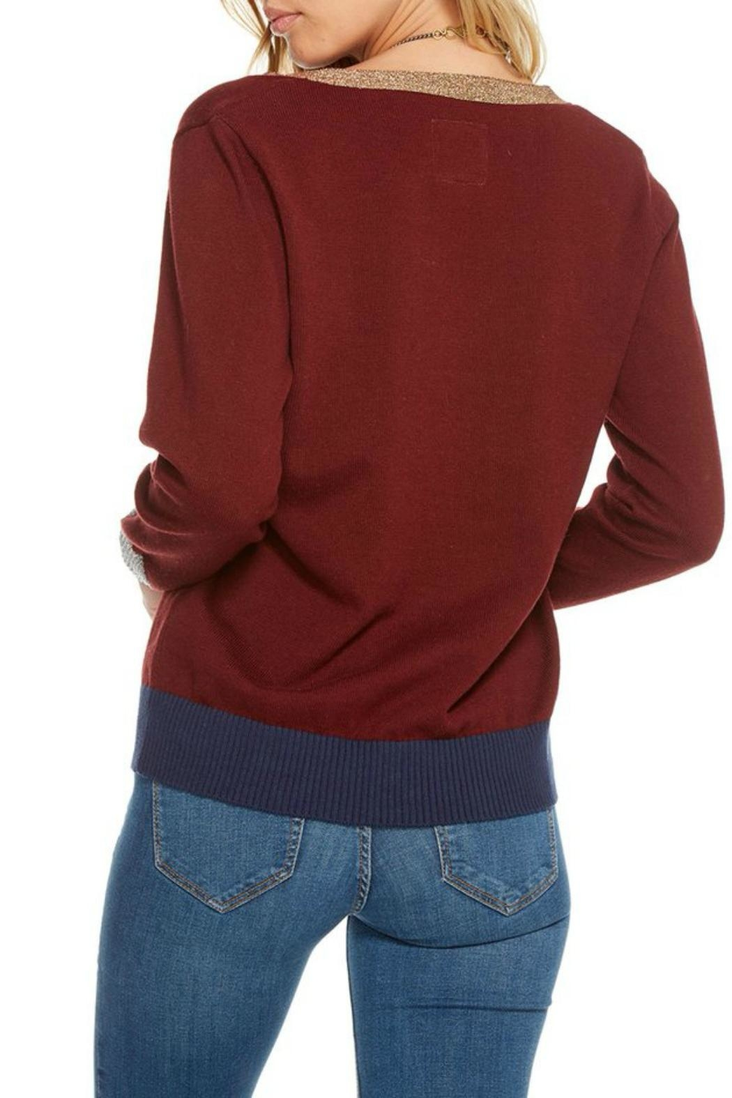 Chaser Cotton Cashmere Cardigan - Front Full Image