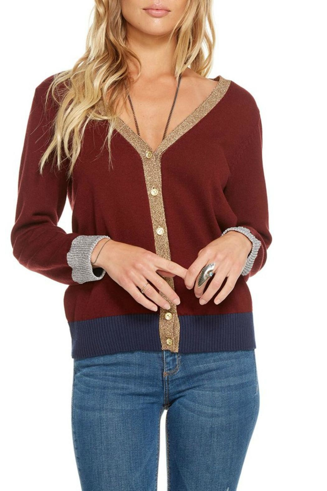 Chaser Cotton Cashmere Cardigan - Main Image