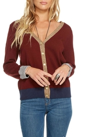 Chaser Cotton Cashmere Cardigan - Front cropped