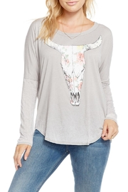 Chaser Cow Skull Top - Product Mini Image