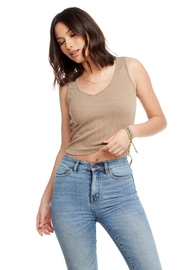 Chaser Cozy Rib Top - Front cropped