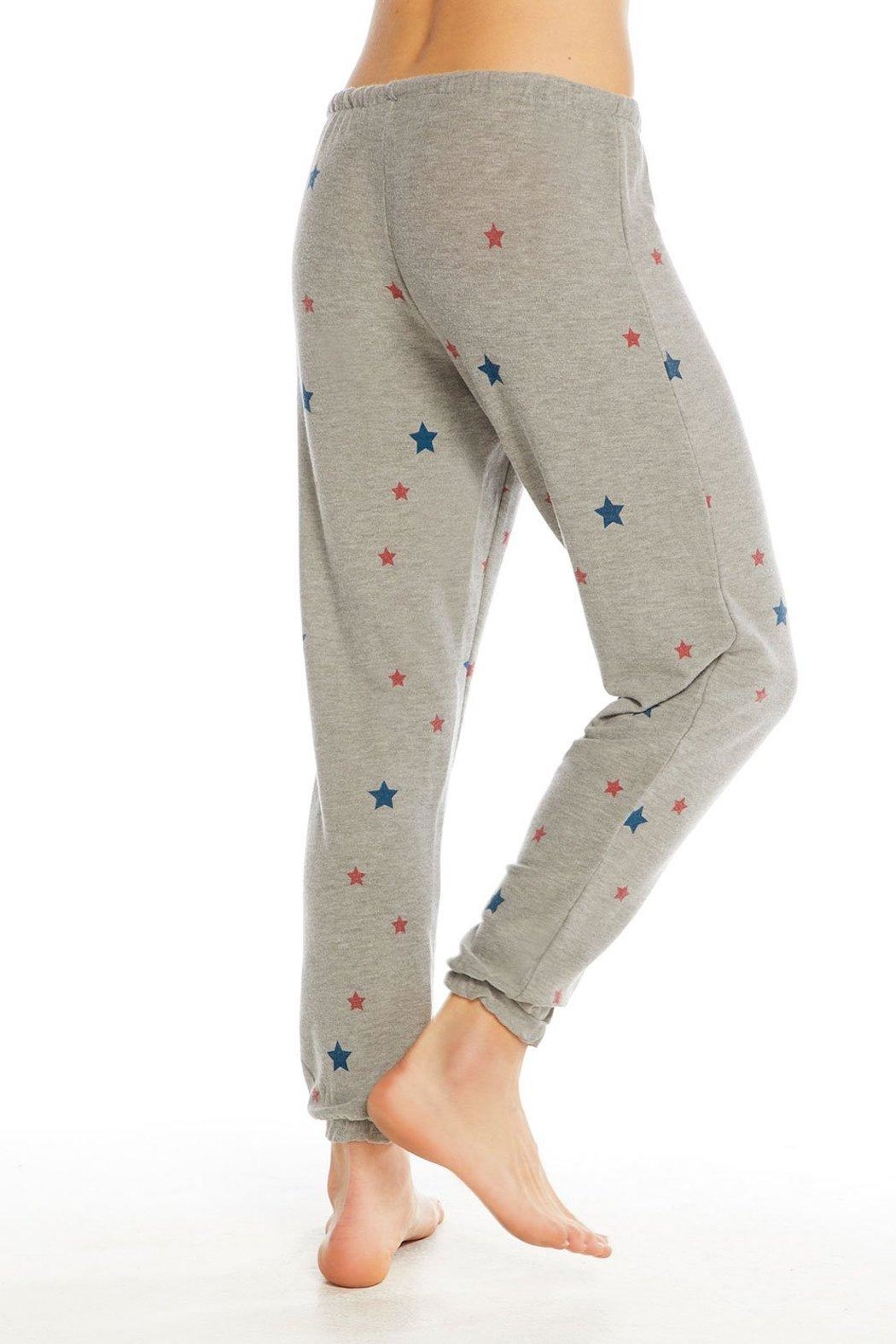 Chaser Cozy Star Jogger - Side Cropped Image