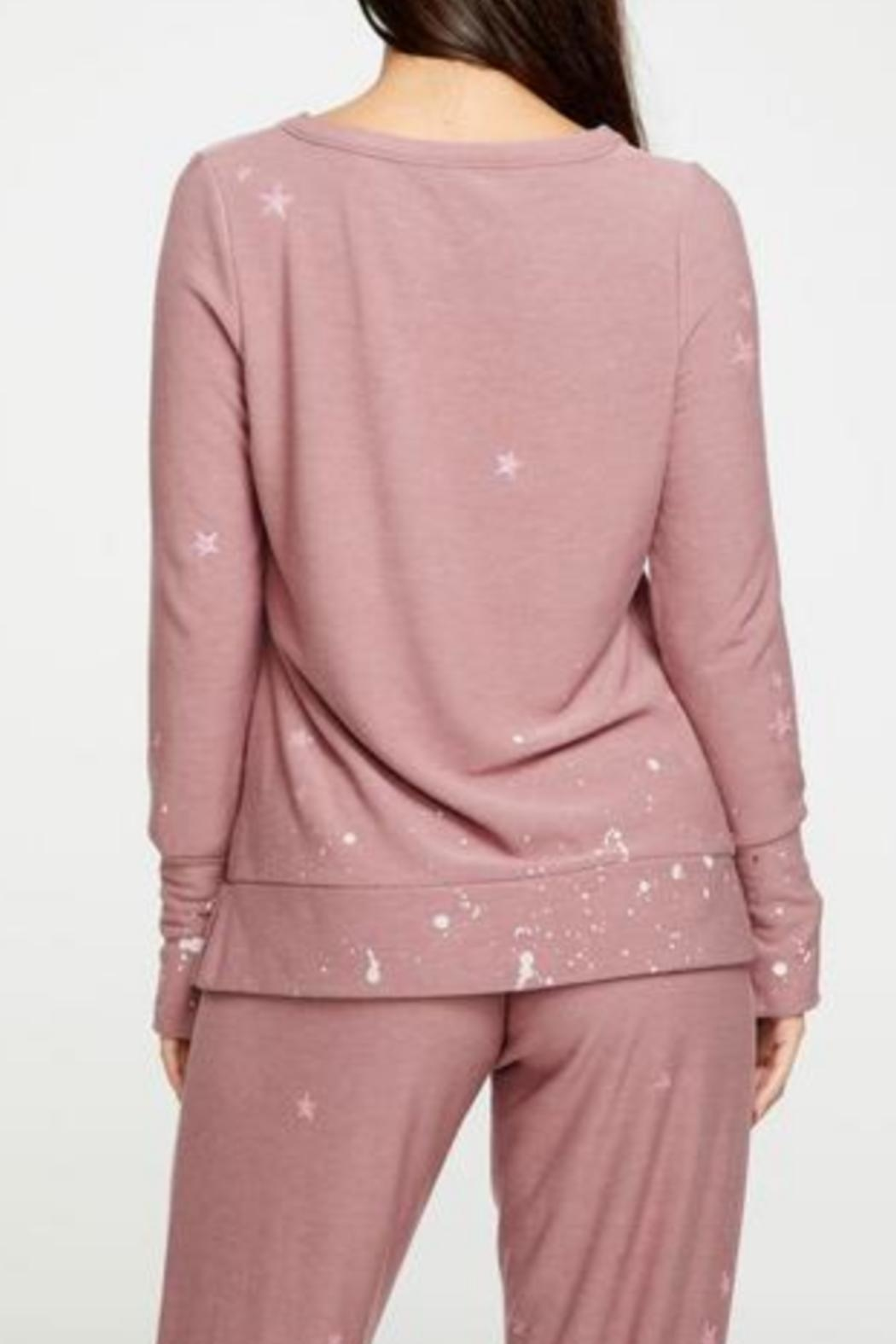 Chaser Cozy Star Pullover - Front Full Image