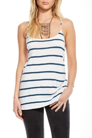 Chaser Criss Cross Cami - Front cropped