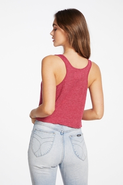 Chaser Cropped Racerback Tank - Alternate List Image