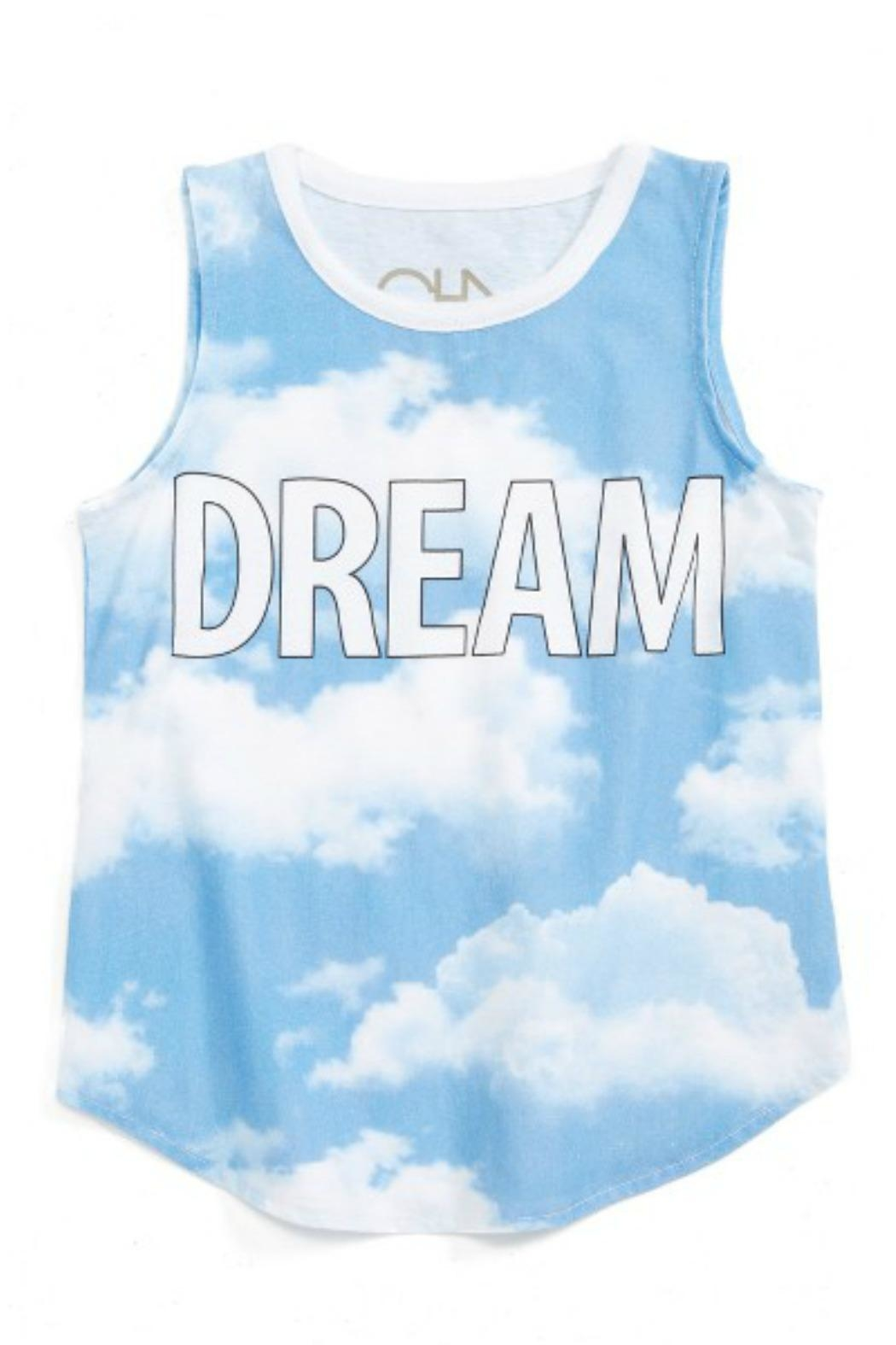 Chaser Day Dream Tank - Front Cropped Image