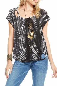Shoptiques Product: Deconstructed Silk Basic Top