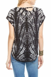 Chaser Deconstructed Silk Basic Top - Front full body