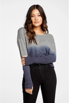 Chaser Dip-Dye Thumbhole Top - Product List Image