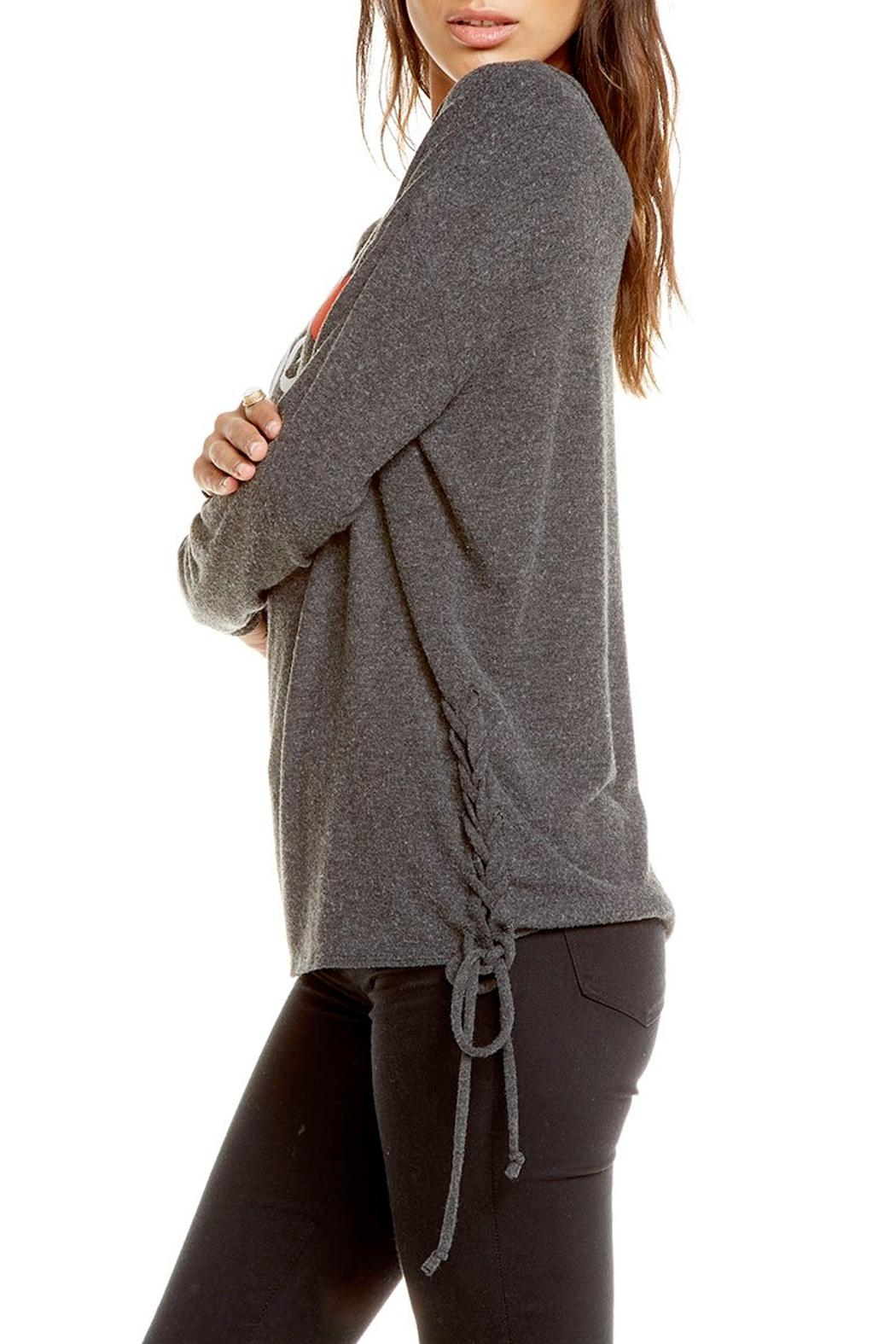 Chaser Love Knit Pullover - Front Full Image