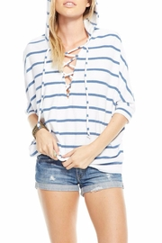 Chaser Dolman Hoodie Top - Front cropped