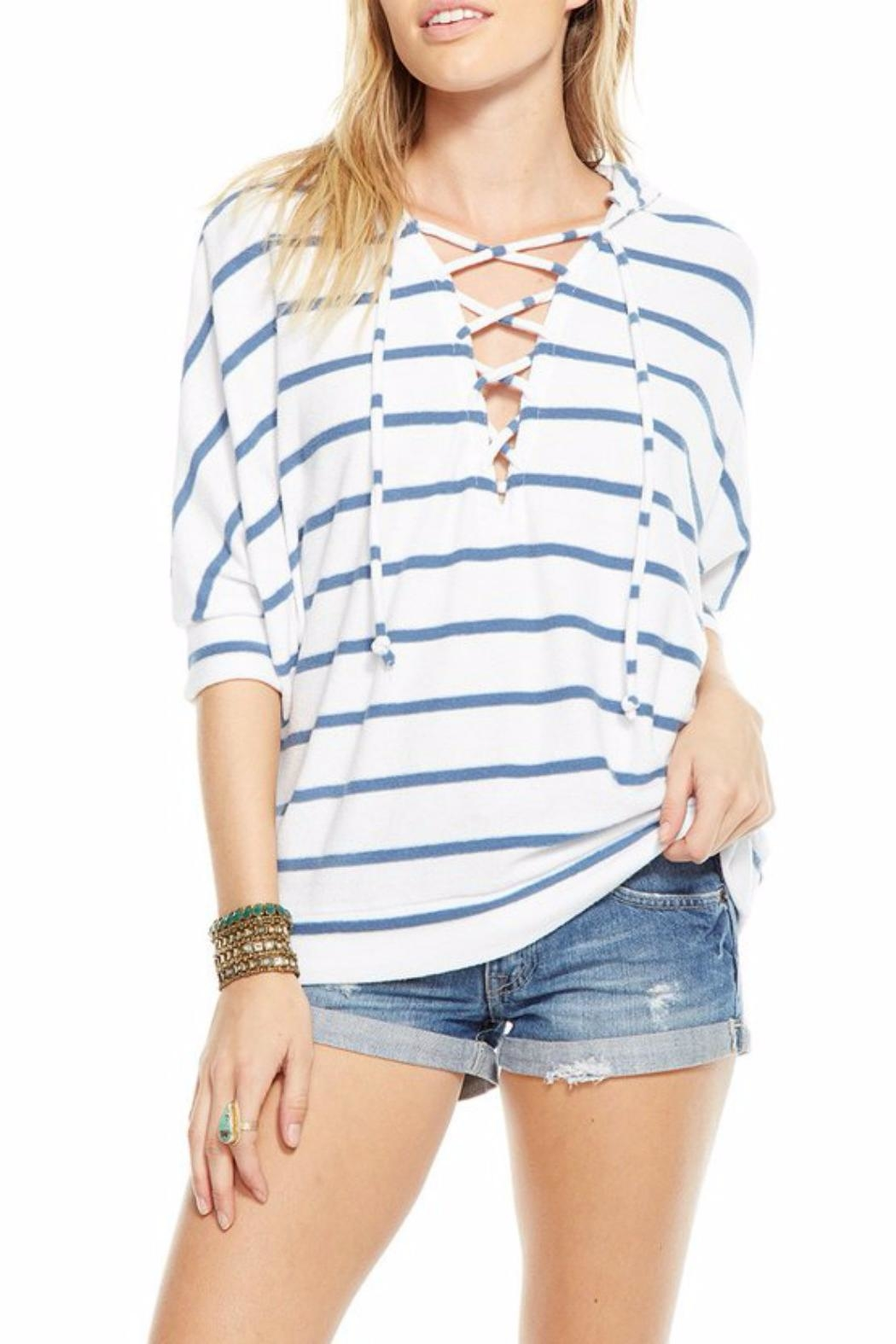 Chaser Dolman Hoodie Top - Front Full Image