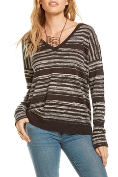 Shoptiques Product: Double V Neck Pullover