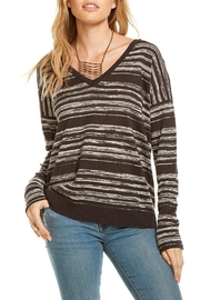 Chaser Double V Neck Pullover - Product Mini Image