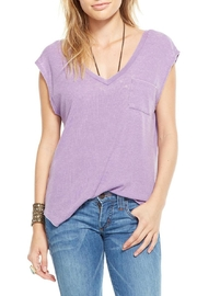 Chaser Purple Low Scoop Tank - Product Mini Image