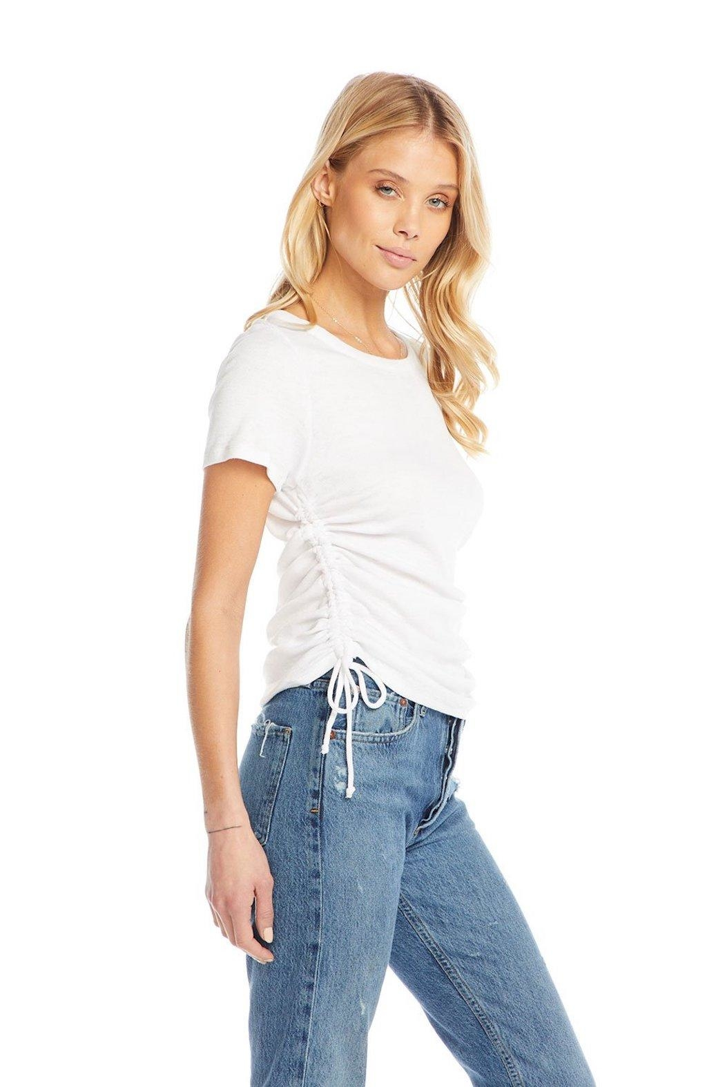 Chaser Drawstring Sides Tee - Front Full Image