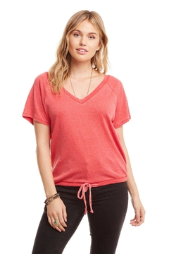 Chaser Drawstring Vneck - Alternate List Image