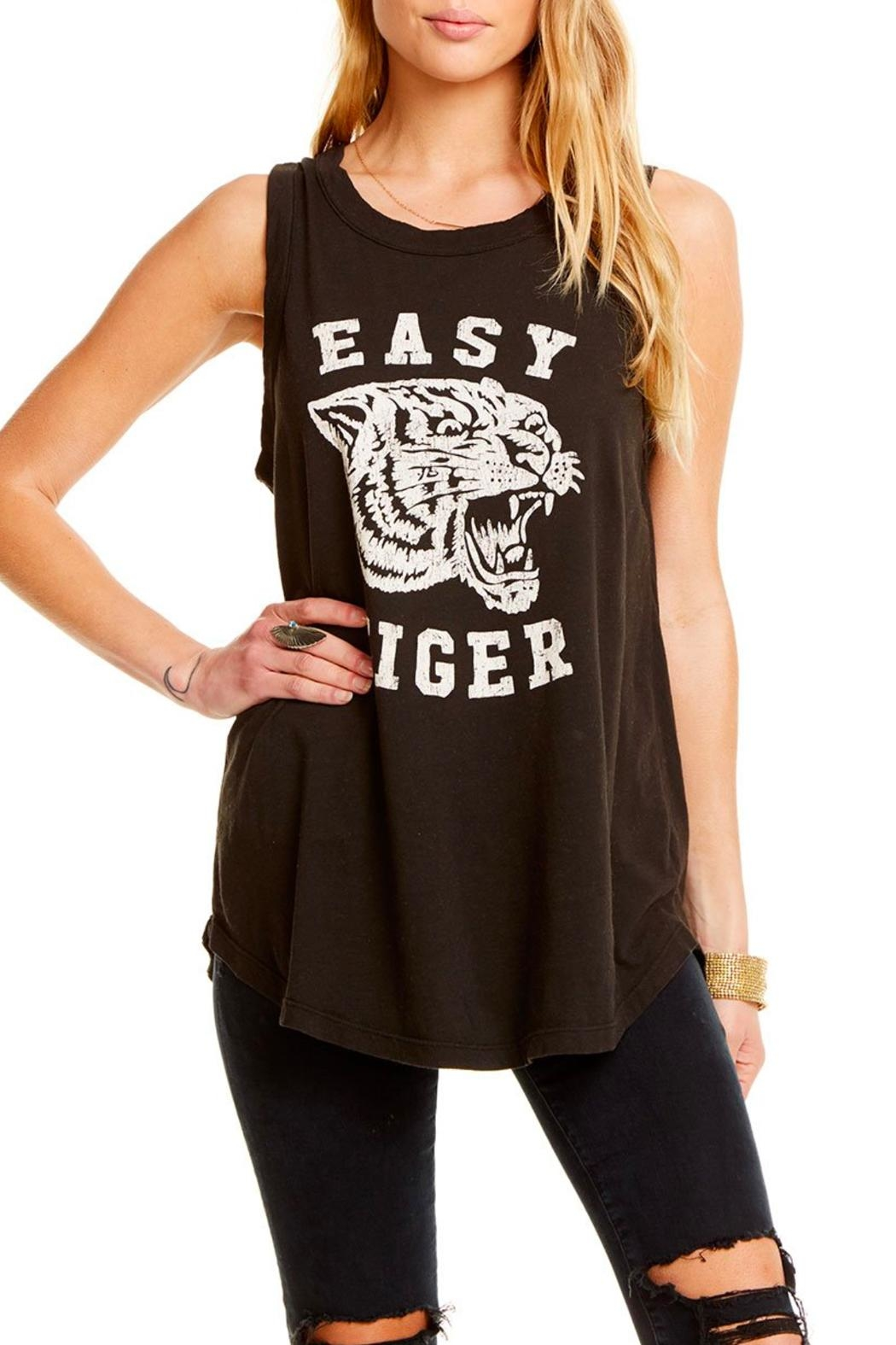 e0d3a544624d2 Chaser Easy Tiger Tank from Orange County by Just Basics — Shoptiques