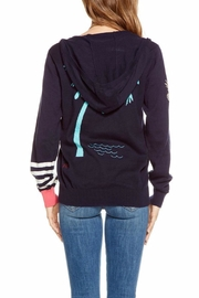 Chaser Embroidery Hoodie Sweater - Front full body